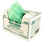 "Chicopee 8295 Quix® Sanitizing and Cleaning Towel 13.5"" x 20"", Green, Reusable, Disposable, Medium Duty, Pretreated, (144 per Case)"