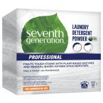 Seventh Generation 44734 Laundry Detergent Powder 112 Oz Box, Whiteish, Solid, (4 per Pack)