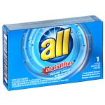 Vend Rite All® 1R-2979267 Ultra Powder Coin Vend Laundry Detergent - Single use pack. - 2 oz., 100/CS